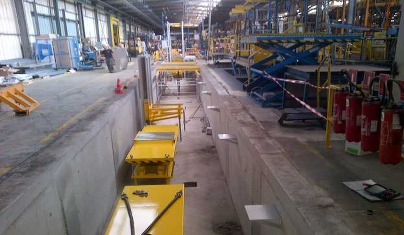 Travaux industriels